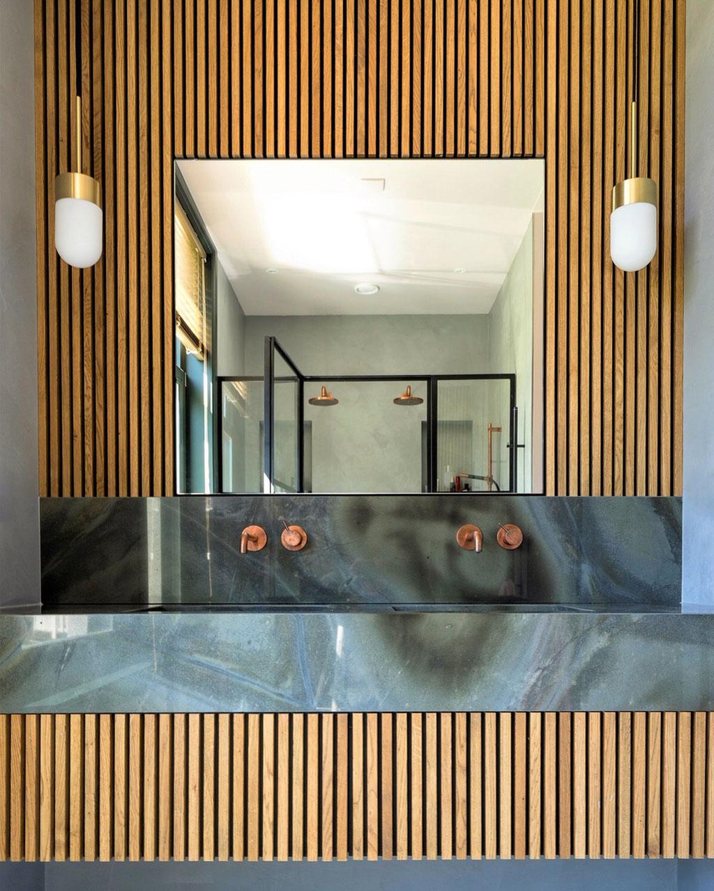 Turtle Illusion bathroom