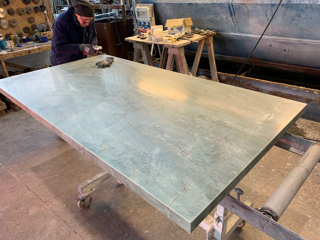 True craftsmanship in marble and granite