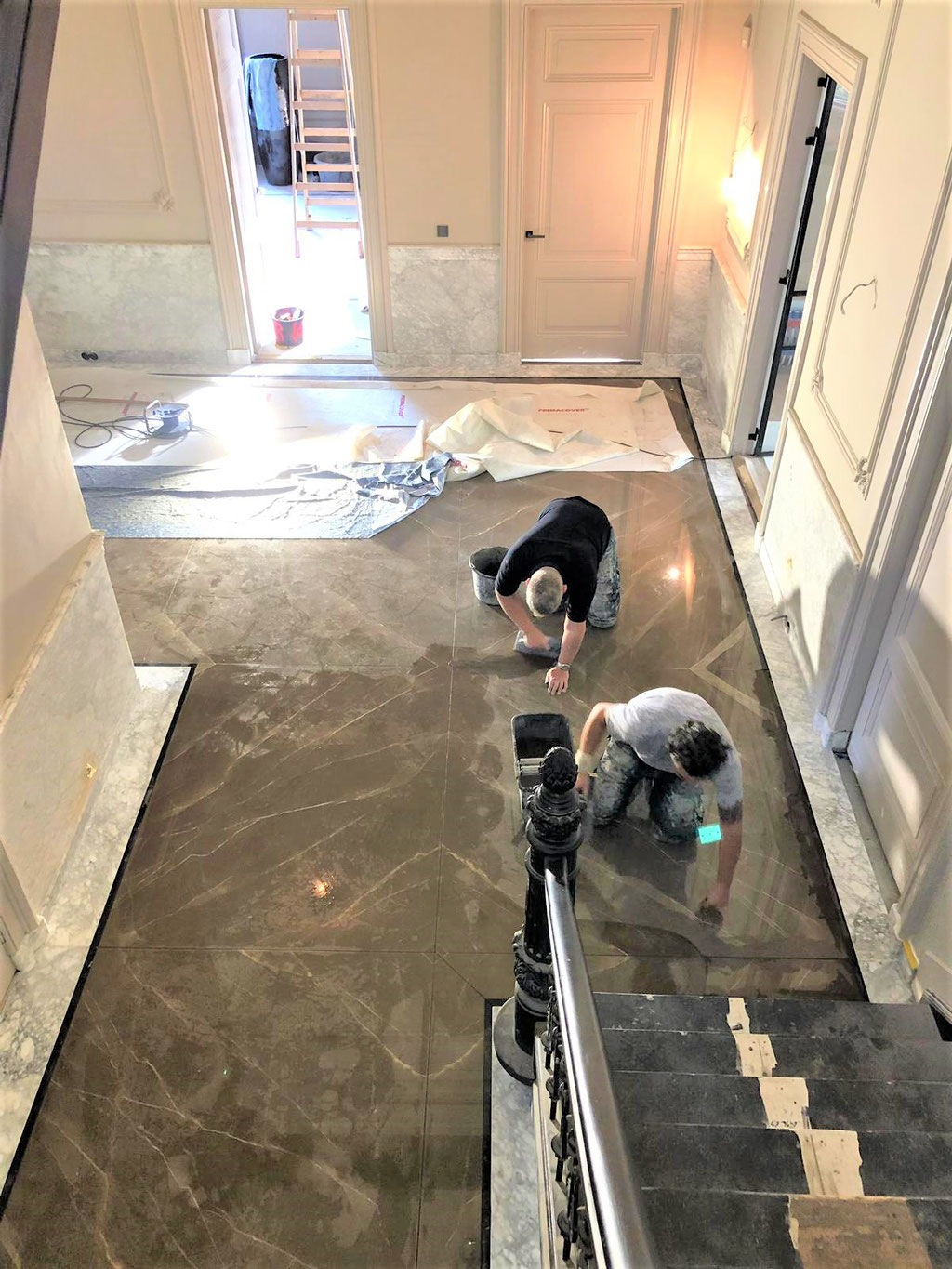 Our expert marble tilers