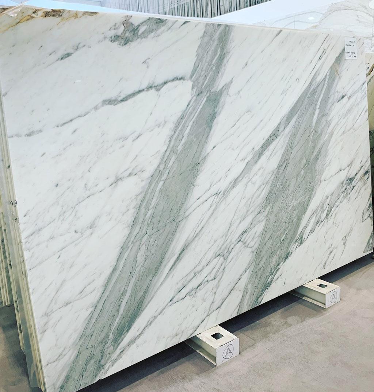 Calacatta marble slab