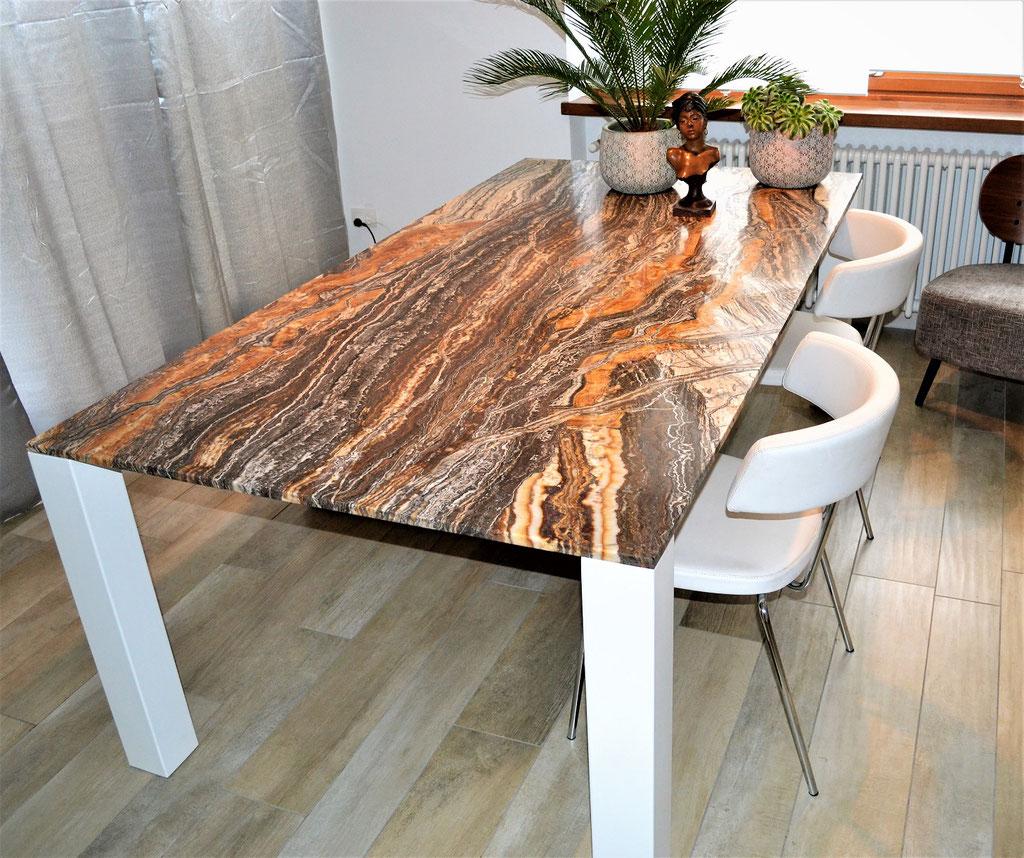 Canyon Onyx table