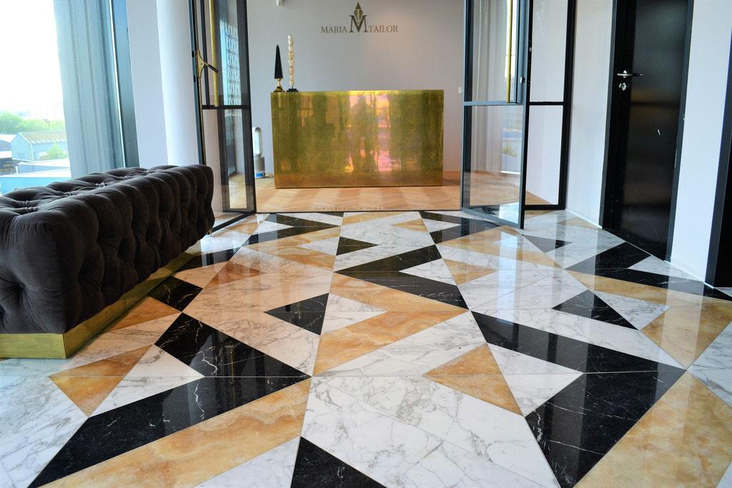 Maria Tailor HQ mosaic marble