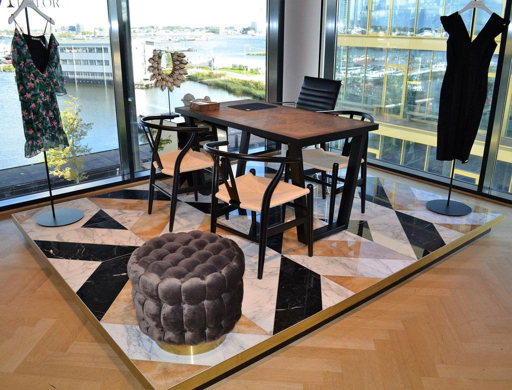 Maria Tailor HQ marmer design vloer