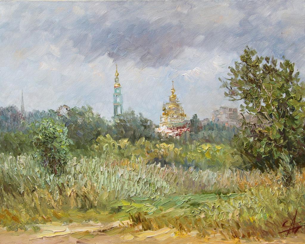 Образ Тамбова. Лето. 2013г. Х.,м. 40х50