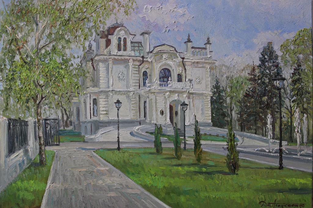 """""""Дом  Асеева"""" Х.,м. 70х100 2015 г."""