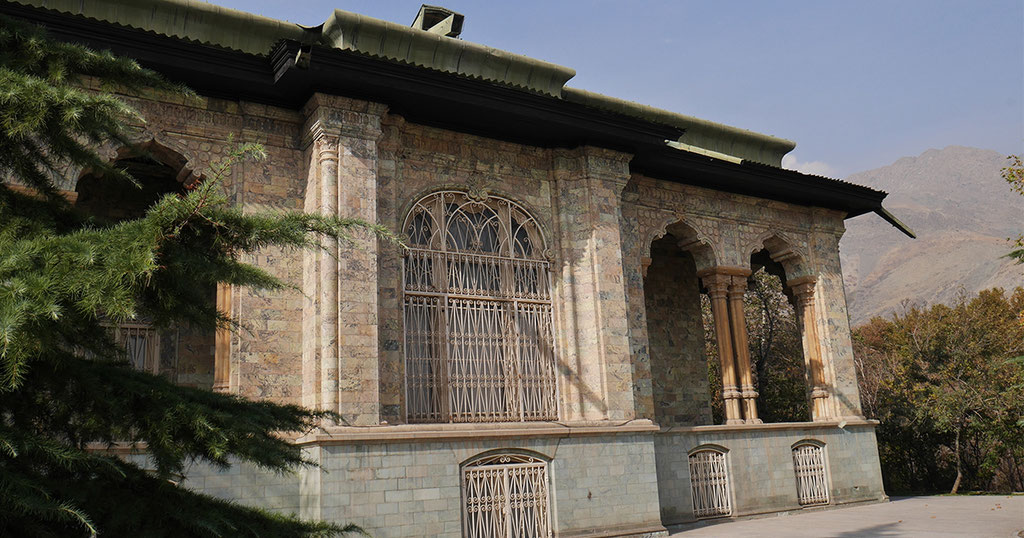 Grüner Palast in Saadabad.