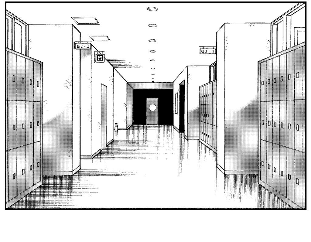 マンガスクール・はまのマンガ倶楽部/教室廊下