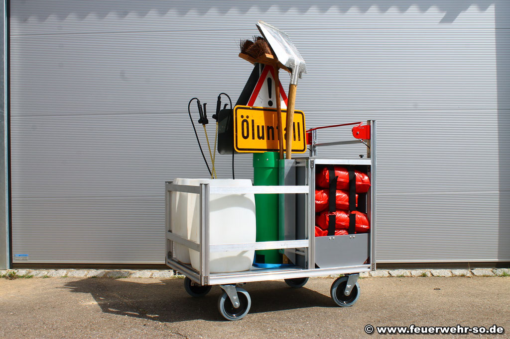 Rollcontainer Ölspur