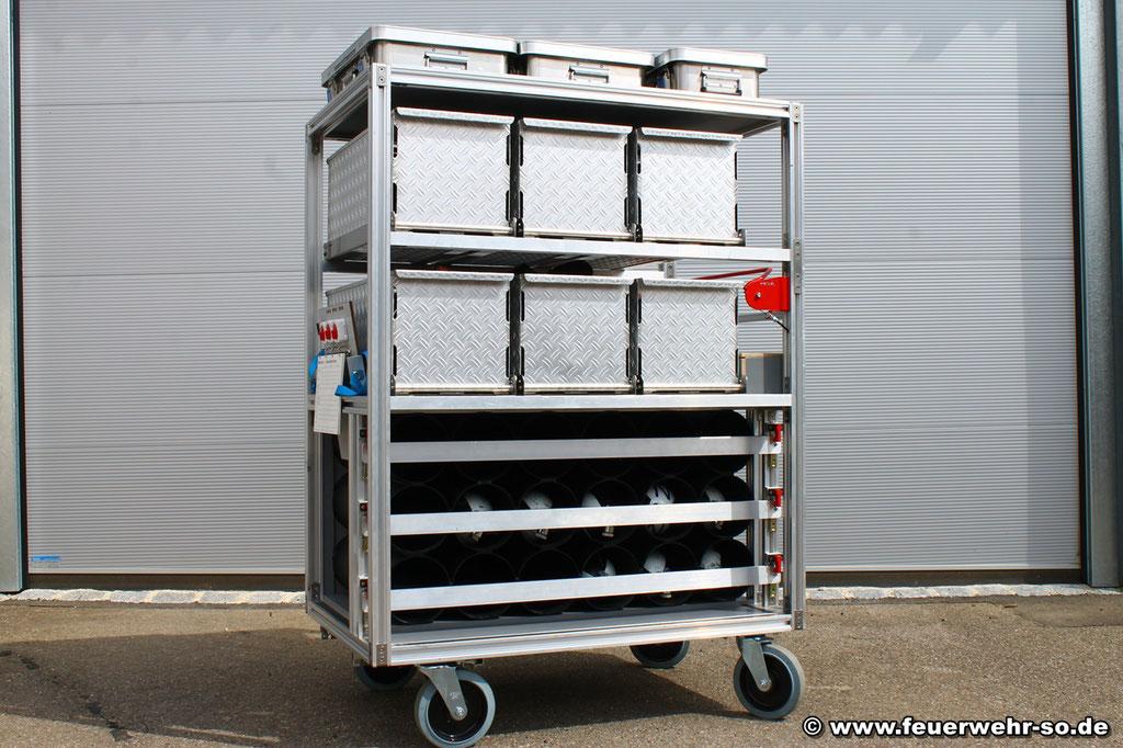 Rollcontainer Atemschutz