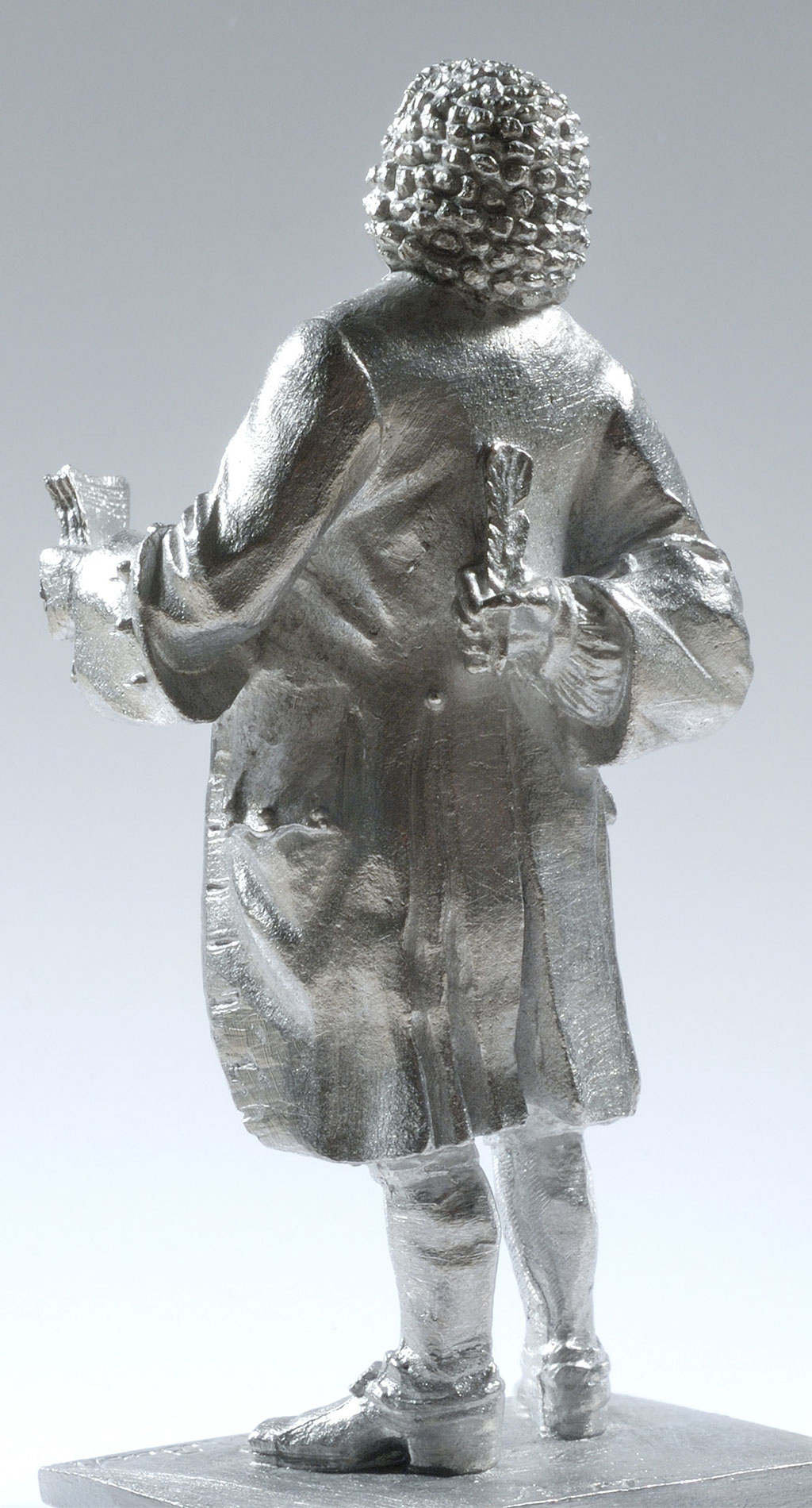 The Bach Tin Figure, a Music Gift.