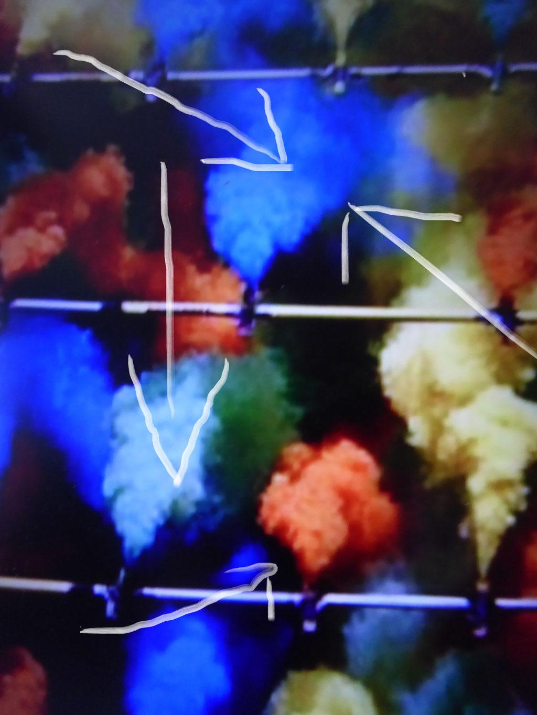 Pedro Meier – Ideas and Test run – for Illuminated Color Smoke Project 2017 – Pedro Meier Multimedia Artist Gerhard Meier-Weg Niederbipp – Bangkok