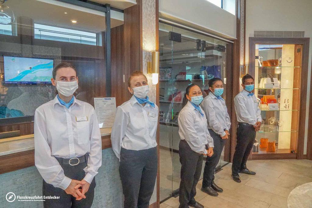 Das Housekeeping-Team