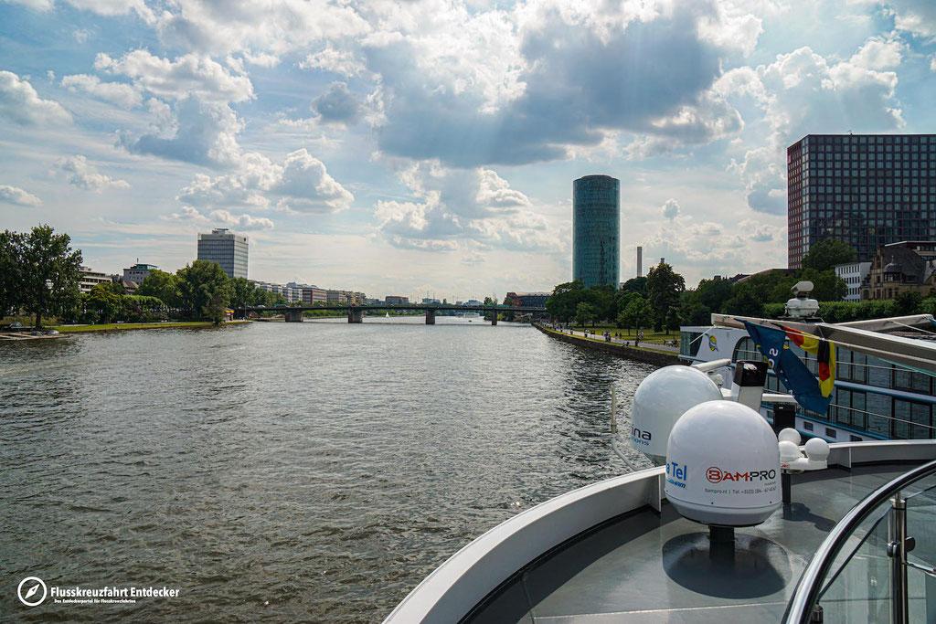 Auch MS Anna Katharina macht sich auf den Weg nach Mannheim