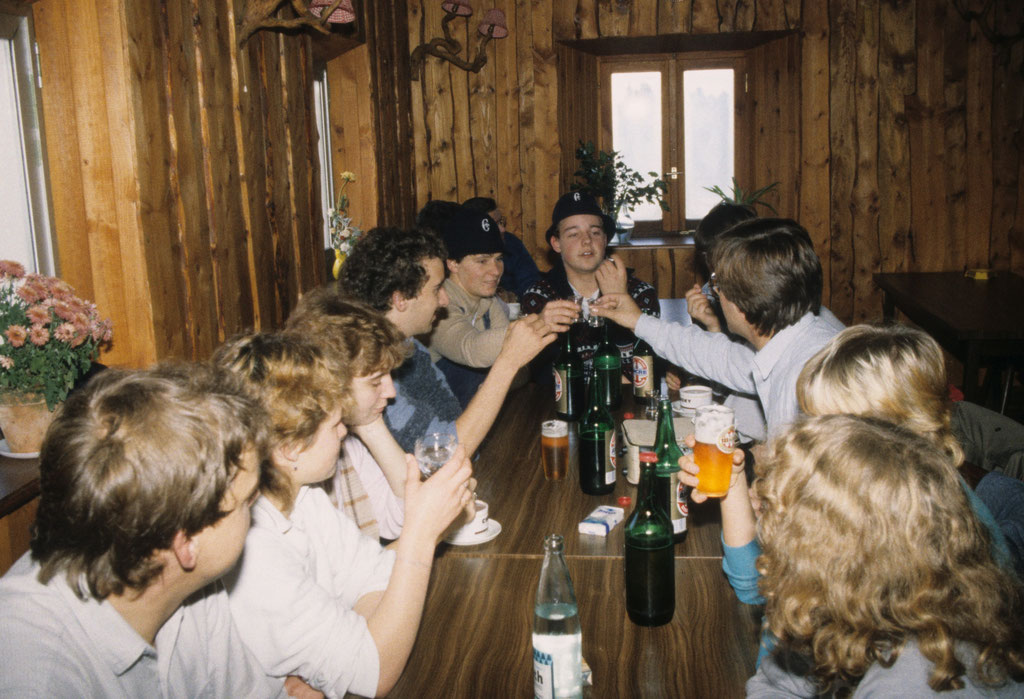 Hütte Elsaß 1982