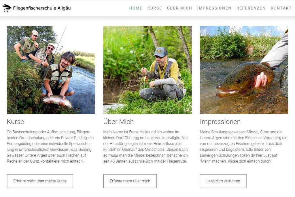 Fliegenfischerschule Allgäu - Details