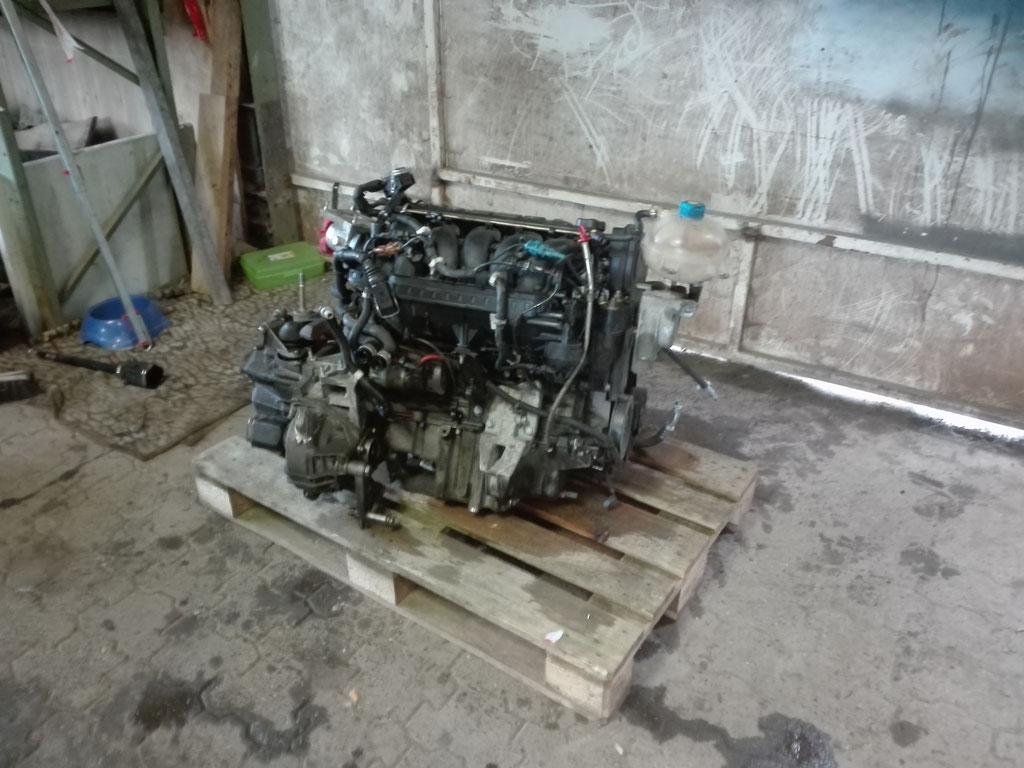 Neue Motor 136000 km