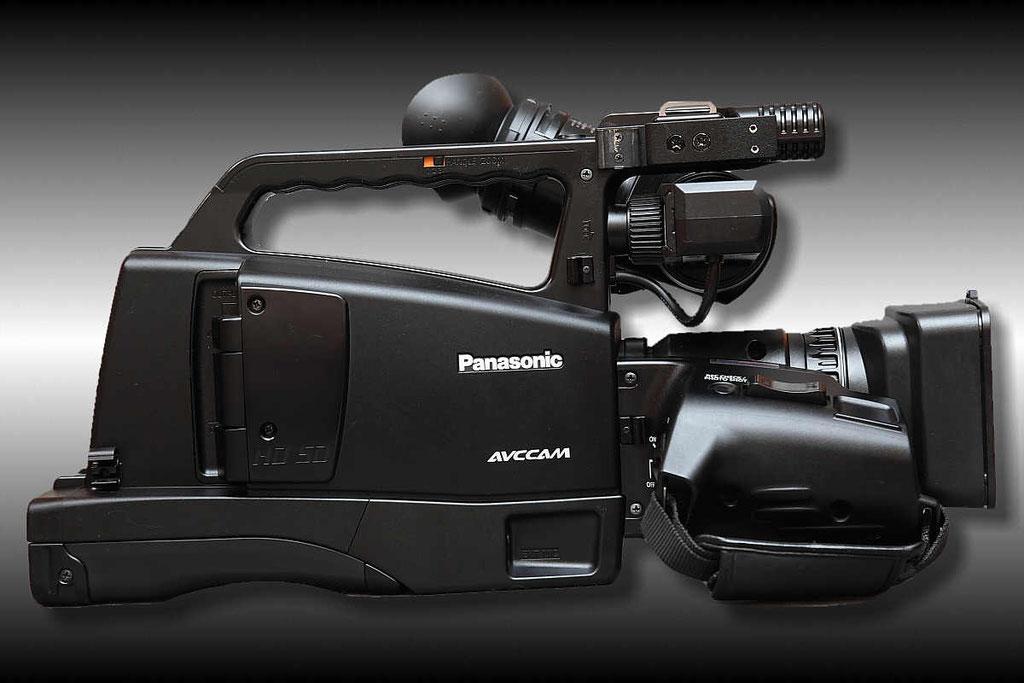 . . . ein Panasonic AG-HMC81EJ