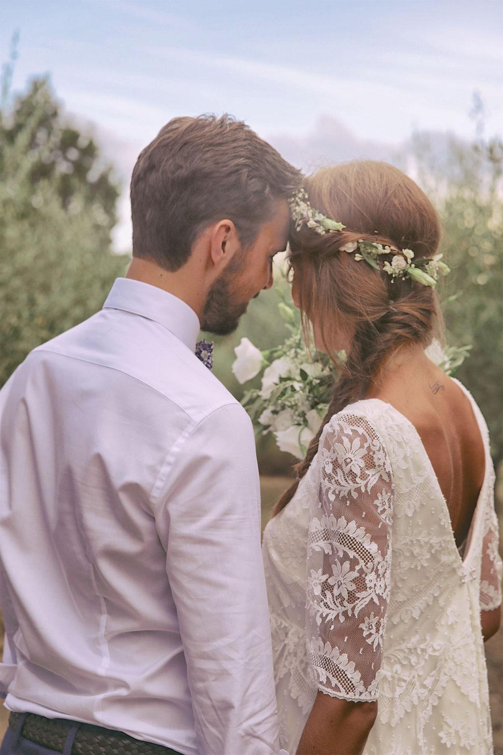 mariage hippie bohème chic sud france