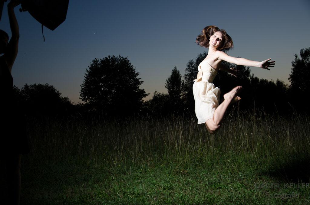 Sprung Bild / Daniel Keller Portraitfotograf