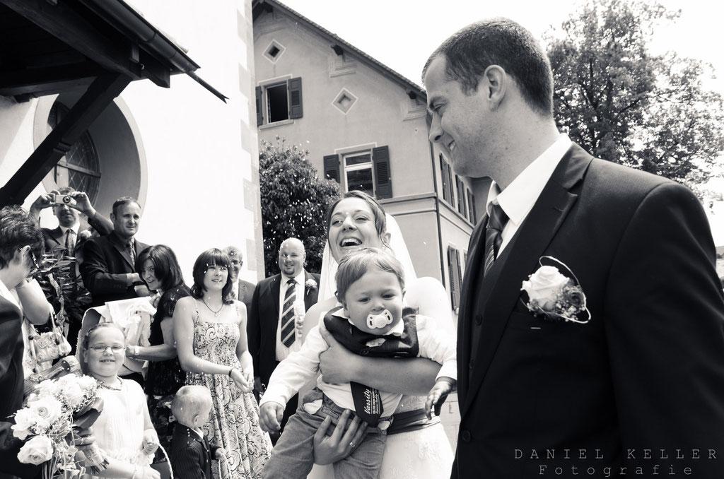 Kirchenauszug / Daniel Keller Hochzeitsfotograf Kehl