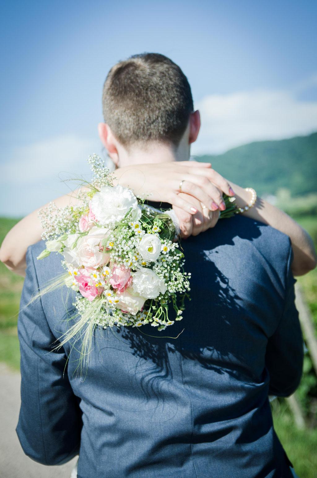 Brautpaar Paarshooting Reben Kappelrodeck