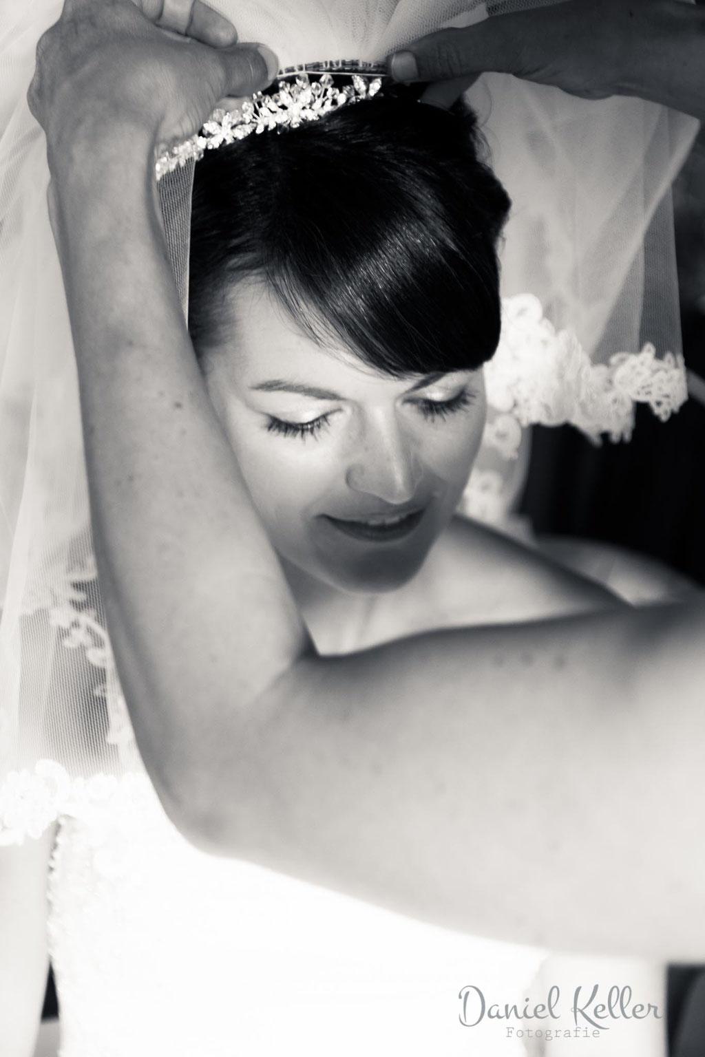 Braut Getting Ready / Daniel Keller Hochzeitsfotograf Ortenau