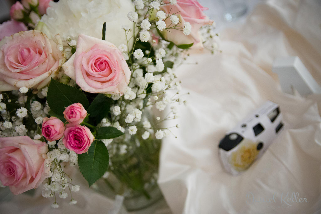Tischdeko Hochzeit / Daniel Keller Fotografie