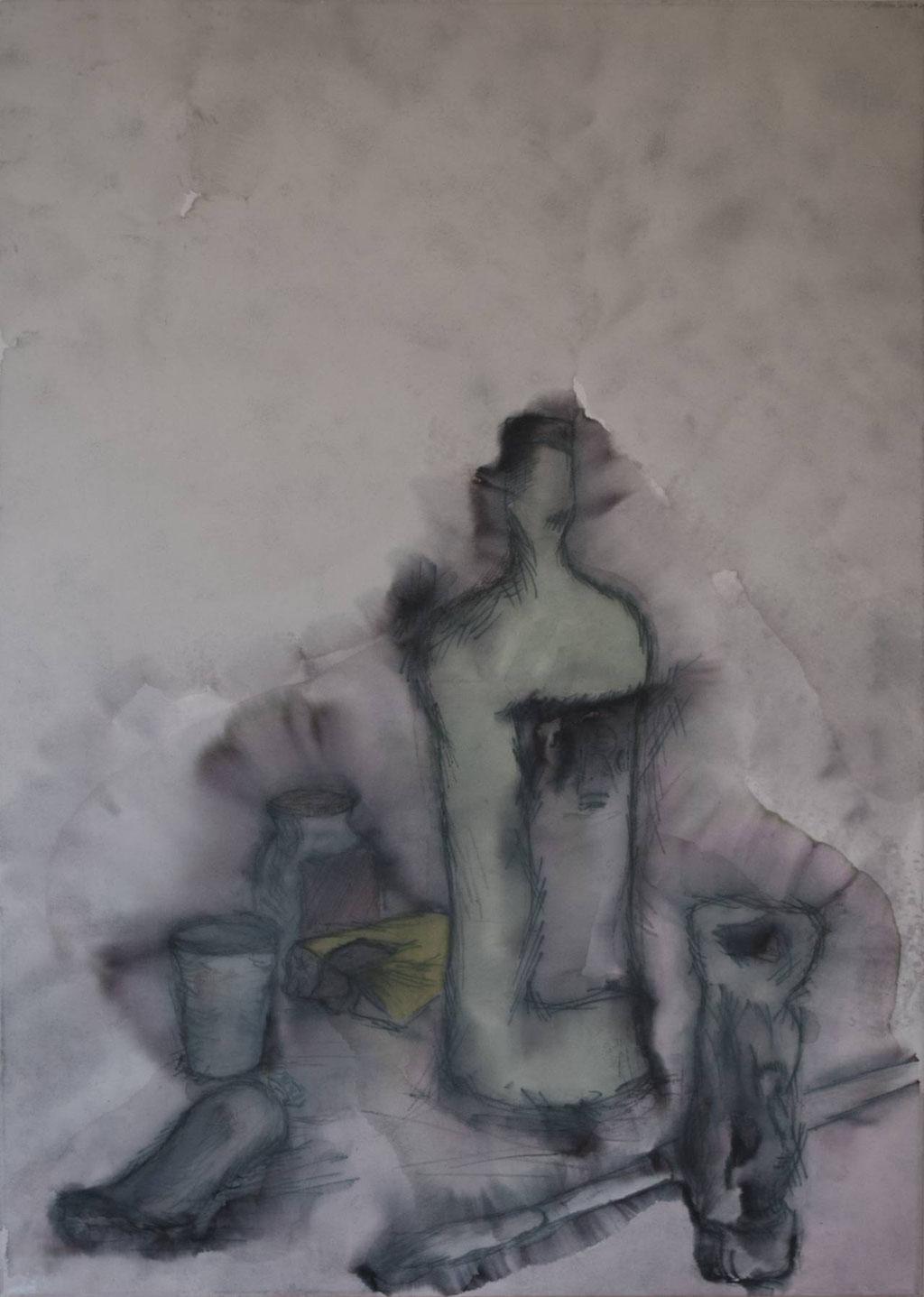 Acrilico su tela (65 cm x 50 cm)