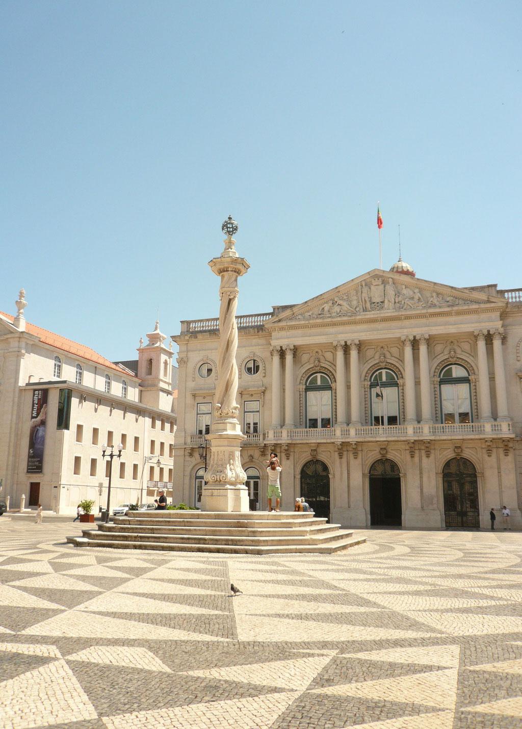 Old quarter Lisbon. Baixa