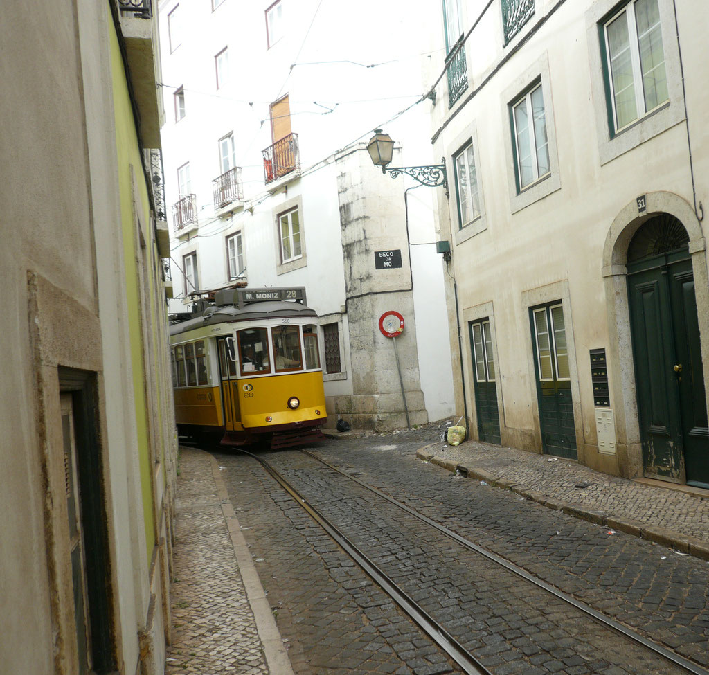 Lisbon tram 28