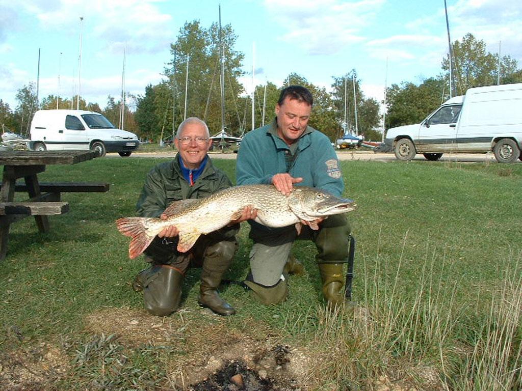Pêche au brochet au lac de Madine