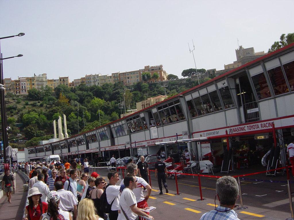 Formel 1 Balkone Monte Carlo