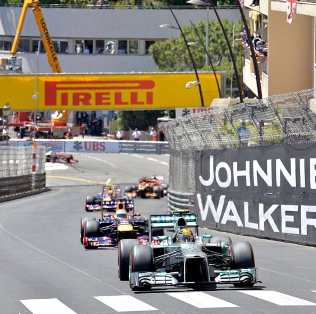F1 Monaco Balkon Restaurant Monte Carlo