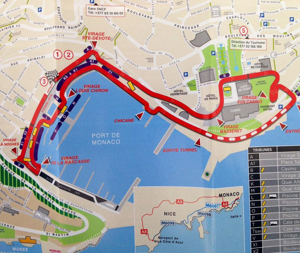 Rennstrecke Monaco, Monte Carlo