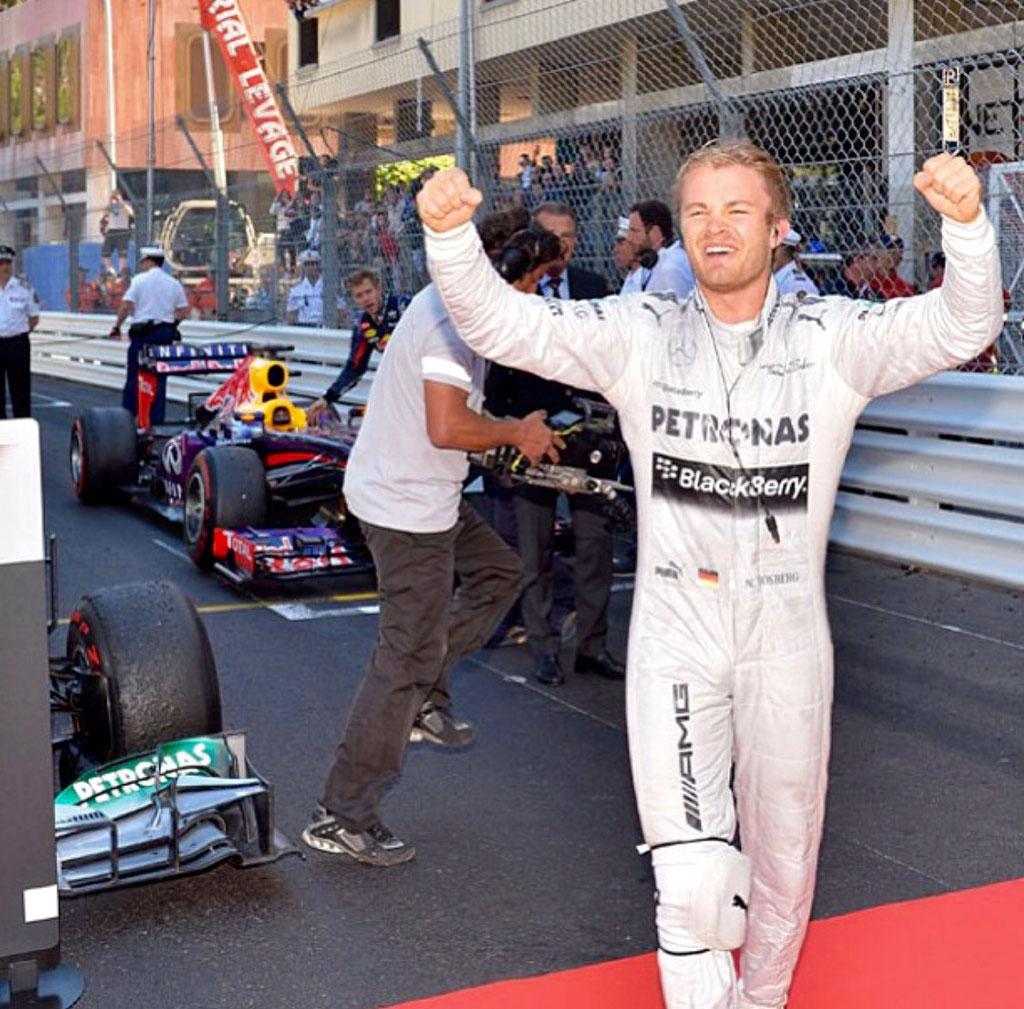 Heidfeld Event Monaco F1 Balkon