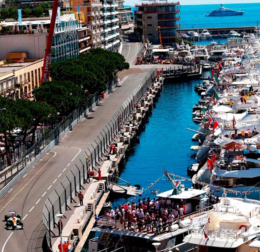 Günstige Formel 1 Monaco Balkonplätze