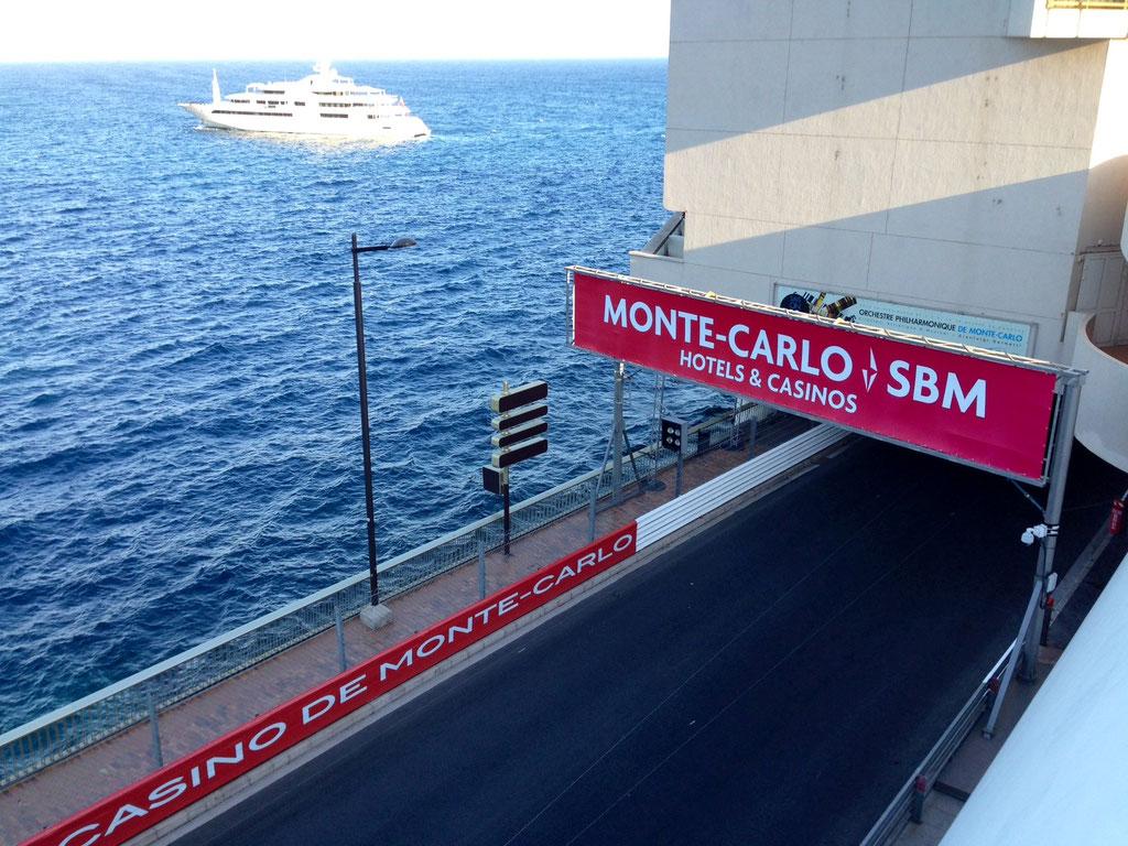 Formel 1 VIP Balkon Monte Carlo