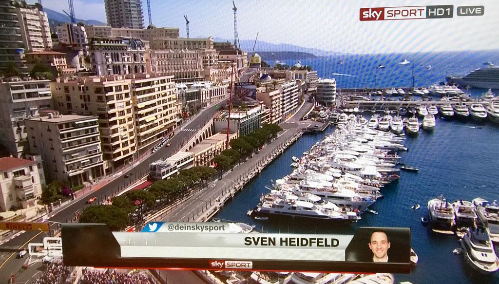 Sven Heidfeld Monaco Formel 1 Experte
