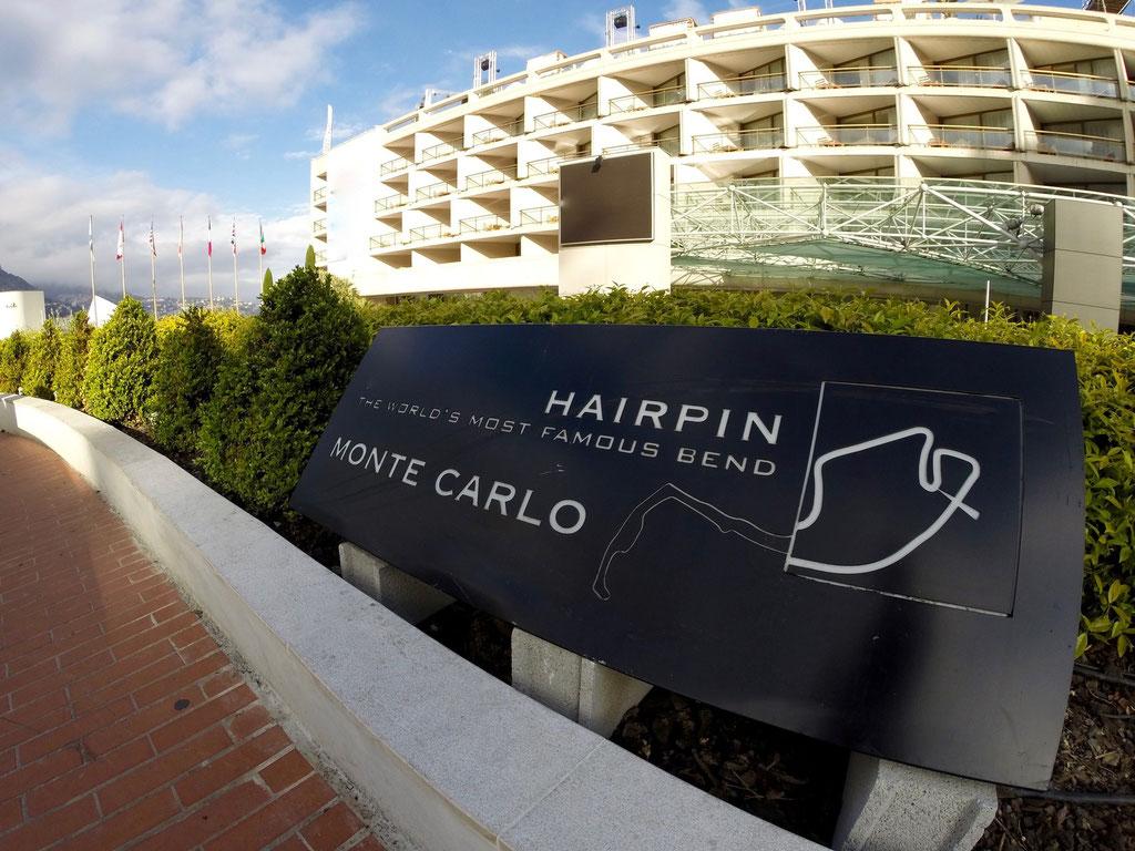 Formel 1 Rennstrecke Monaco