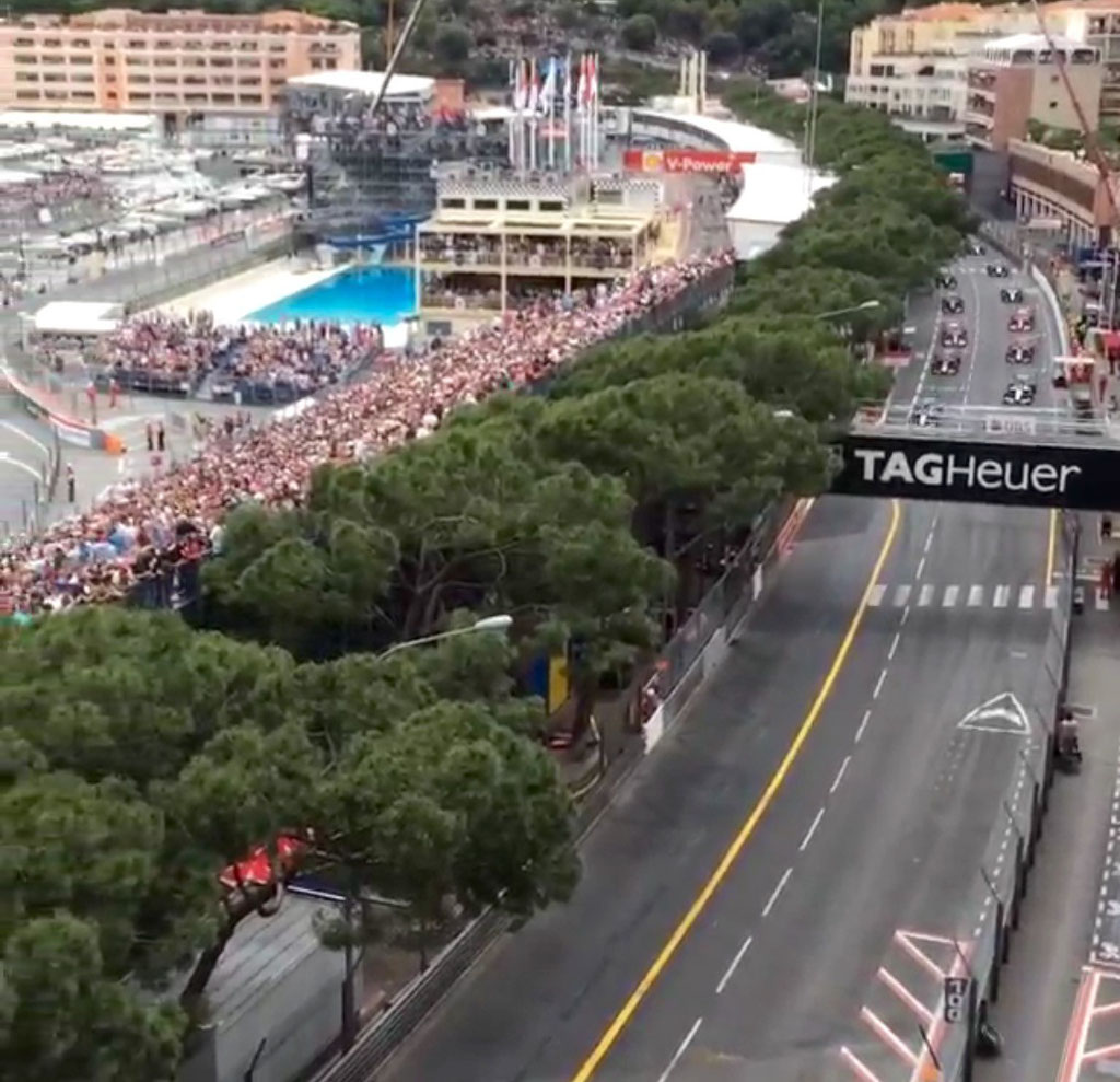 Balkonplätze Monaco