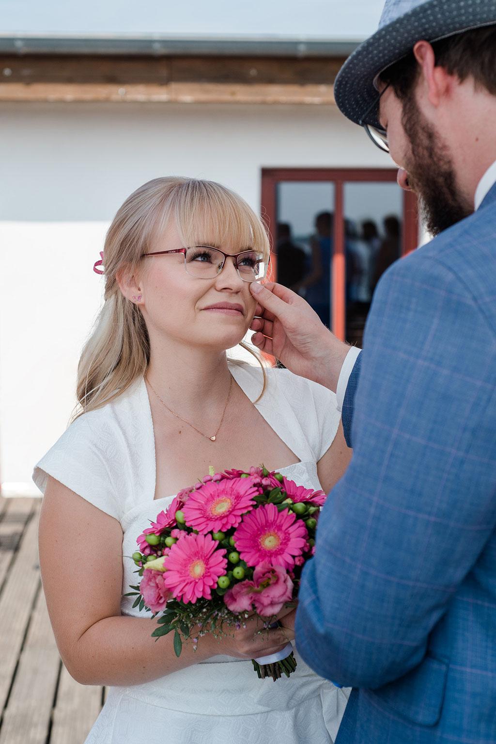 Heiraten in Leipzig und Markkleeberg am Cospudener See in der Hacienda Cospuden - Hochzeitsfotos in Leipzig