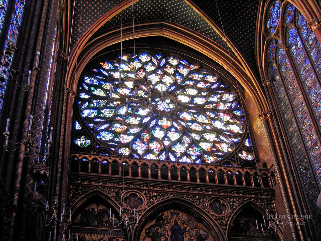 Bild: RosenfensterSainte-Chapelle in Paris