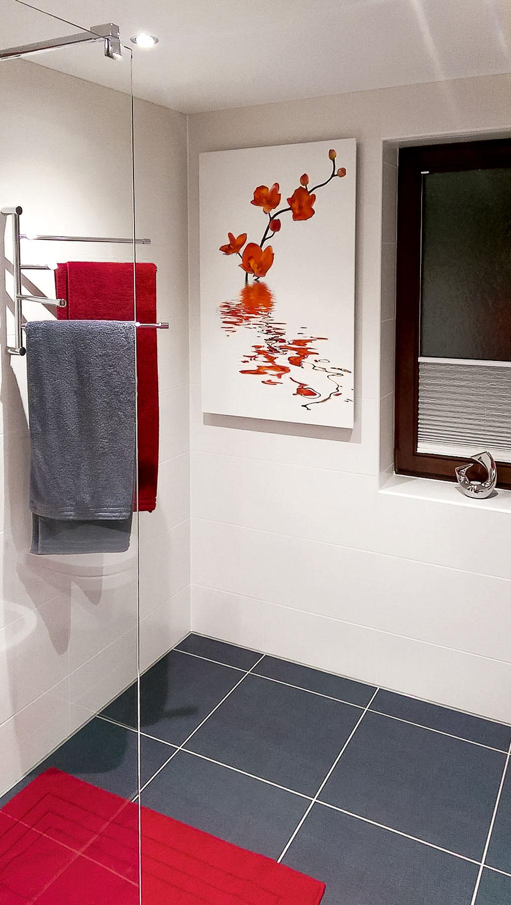 HALLER Infrarotheizung Badezimmer