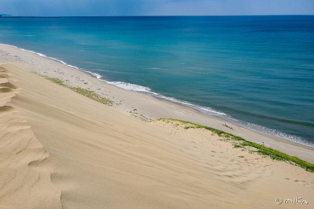 鳥取砂丘と海①