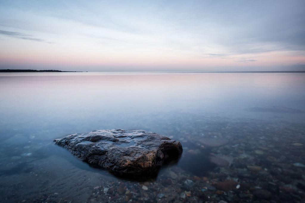 Die Ostsee gaaanz ruhig