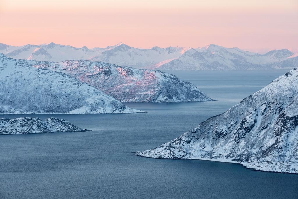 Noch mehr arktische Morgenstimmung