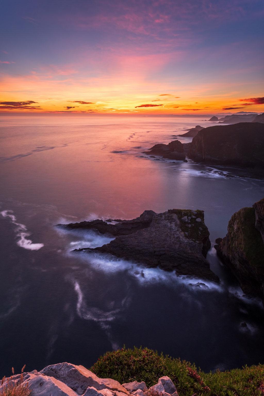5 Cabo Vidio. Sonnenaufgang