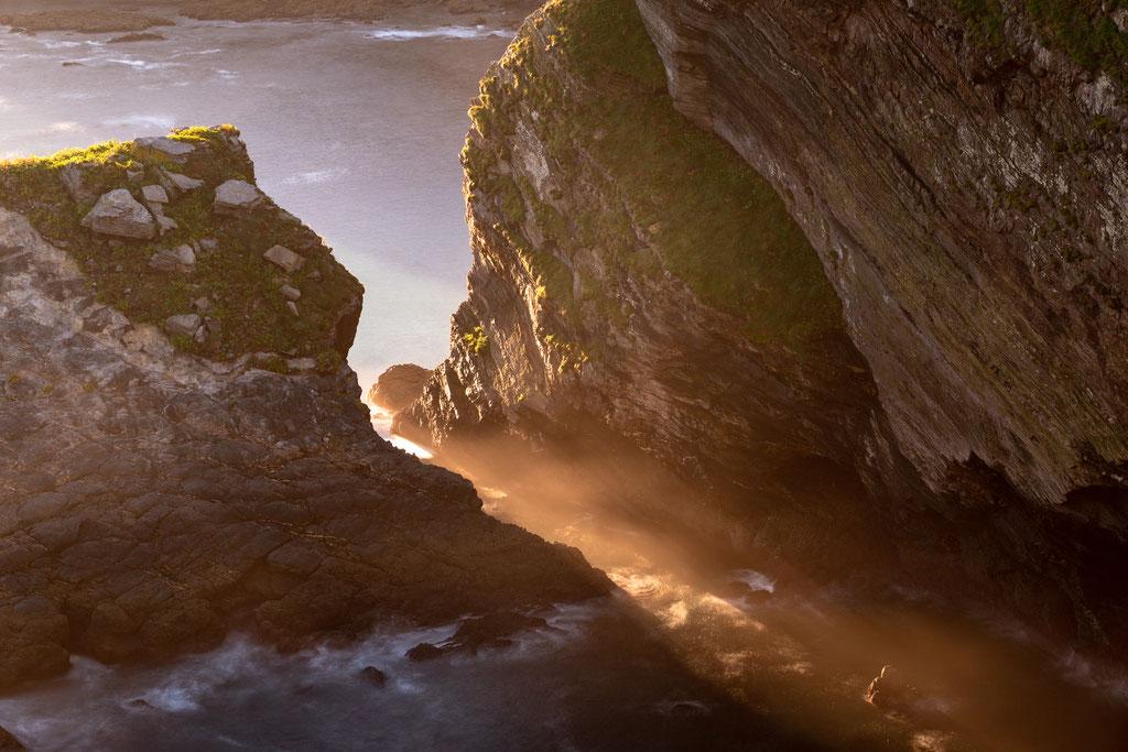 5 Cabo Vidio. Lichtreflexe zum Sonnenaufgang