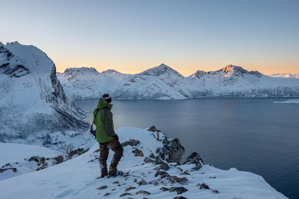 Geniale Aussicht von der Brosmetinden, Kvaløya