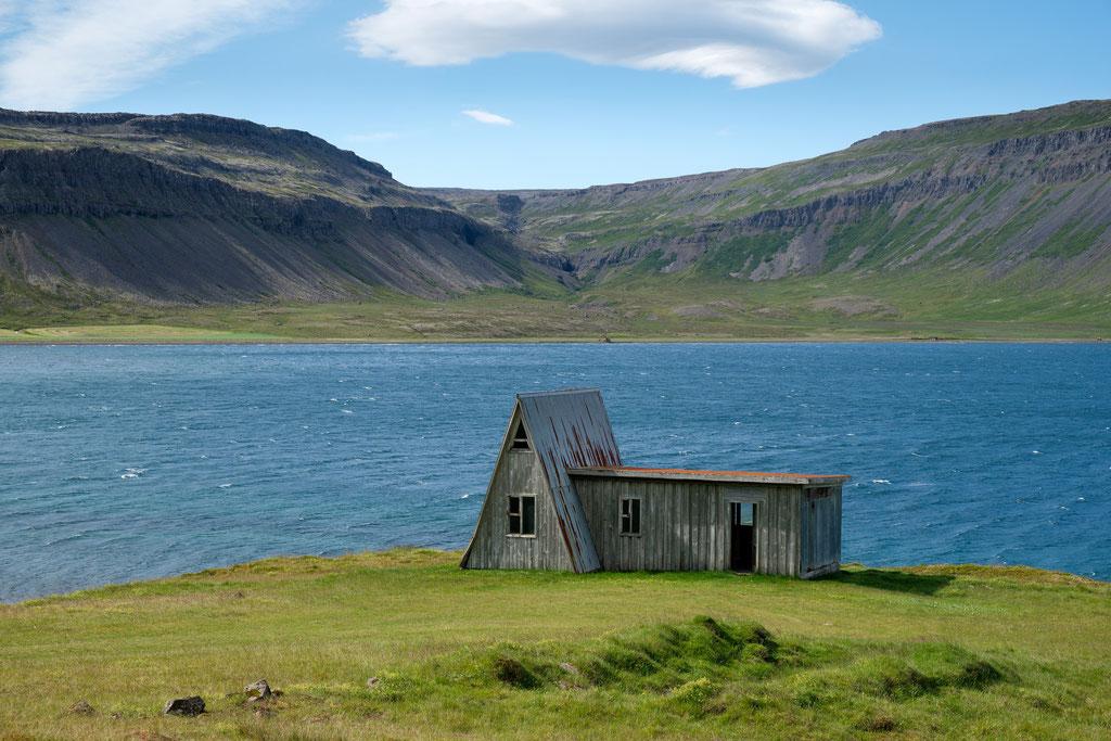 ...eine alte Scheune irgendwo in den Westfjoden Vestfirðir